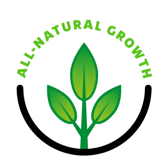 Greensoil All-natural growth logo
